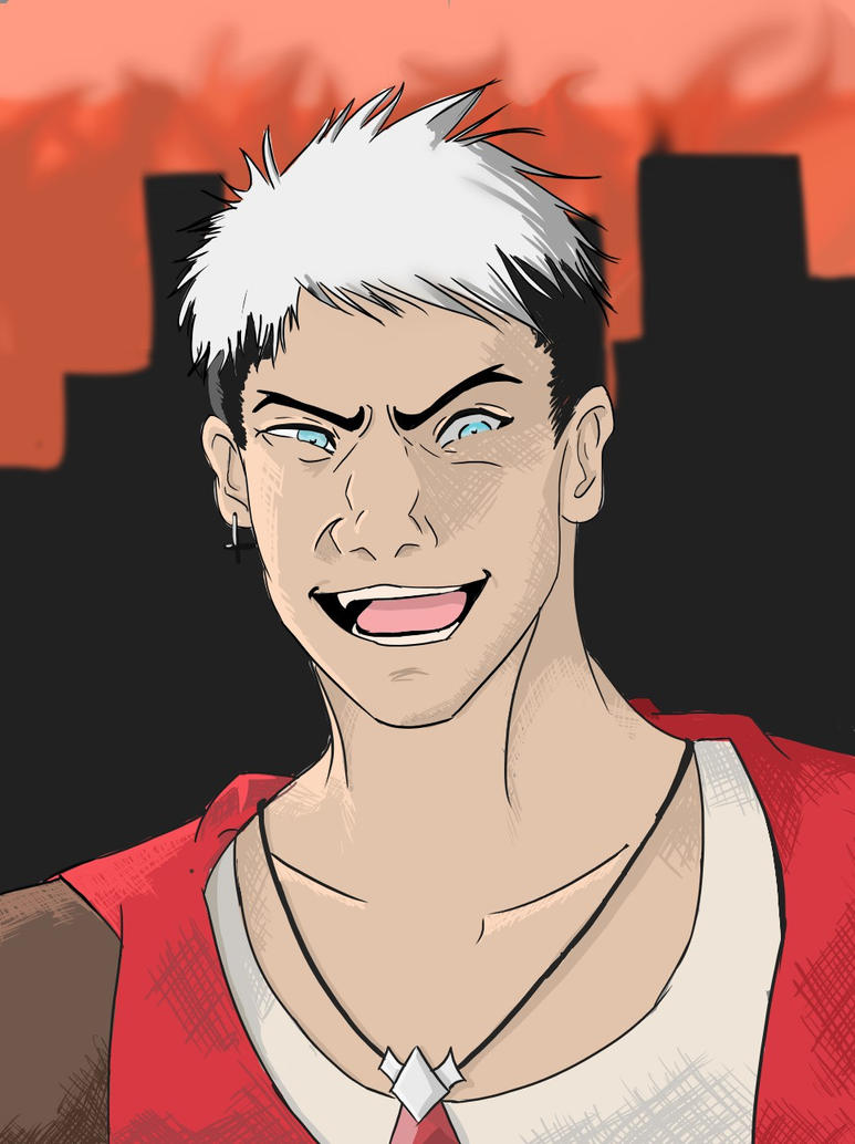 The Devil May Cry by fire-bound