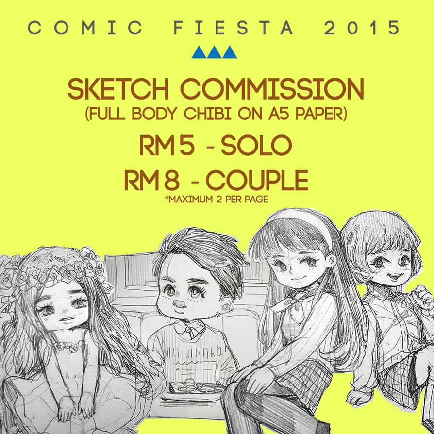 Sketch Chibi Comm Cf2015 by Jean-chan
