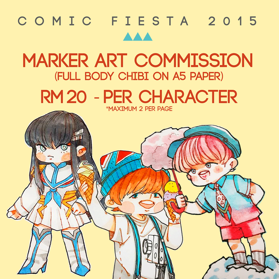 Marker Comm Cf2015 by Jean-chan