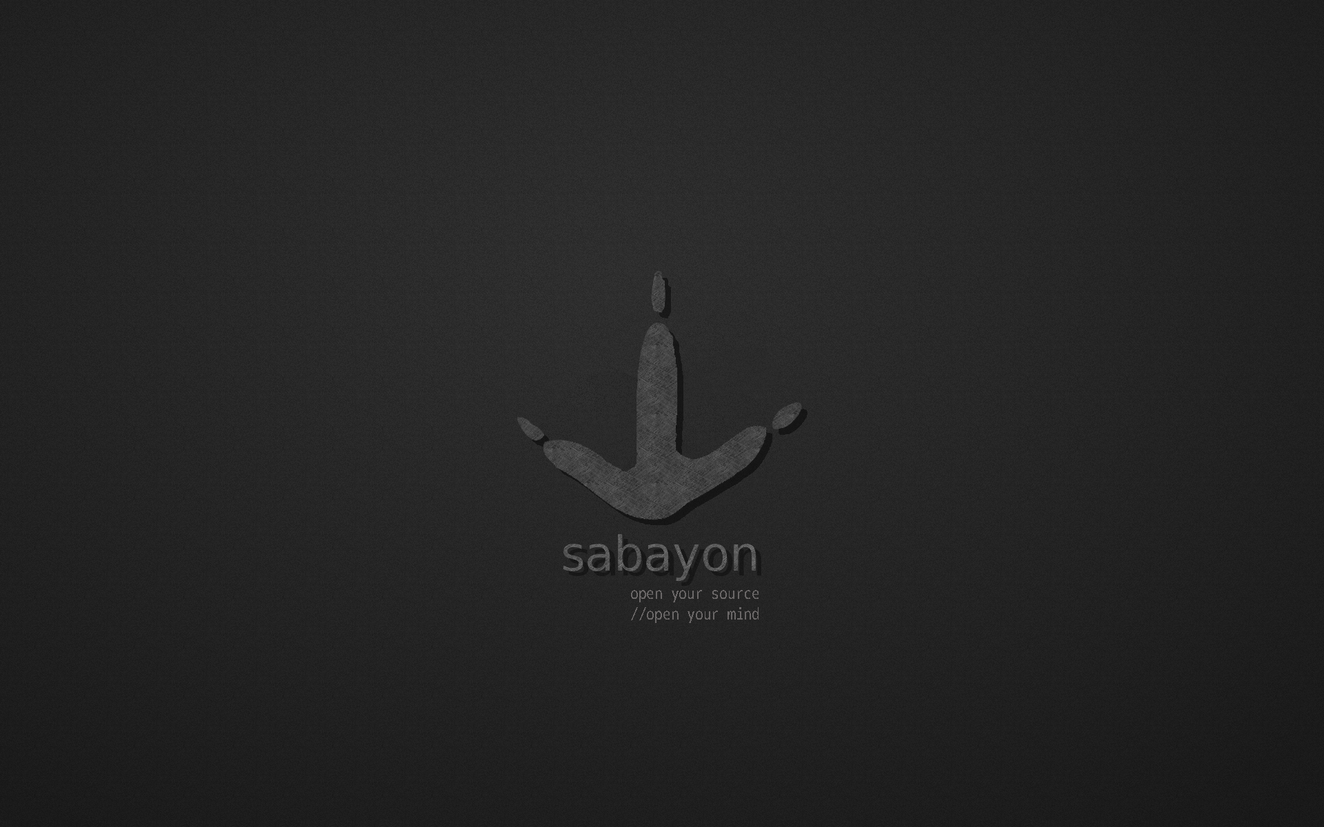 Sabayon Wallpaper by Typograflaw on DeviantArt