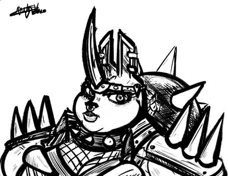 Portrait of the Spike Princess