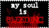 bleeding soul by DeviantSith