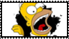 Homer J stamp by DeviantSith