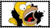 Homer J stamp by DeviantSith