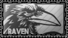 RaVeN stamp by DeviantSith