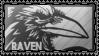 RaVeN stamp by DeviantSith