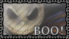 Boo I stamp by DeviantSith