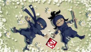 Mini Ninjas Peace 2 PSP wall by DeviantSith