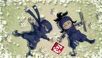 Mini Ninjas Peace 2 PSP wall