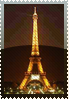 Eiffel Night stamp by DeviantSith