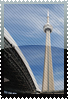 CN tower stamp by DeviantSith