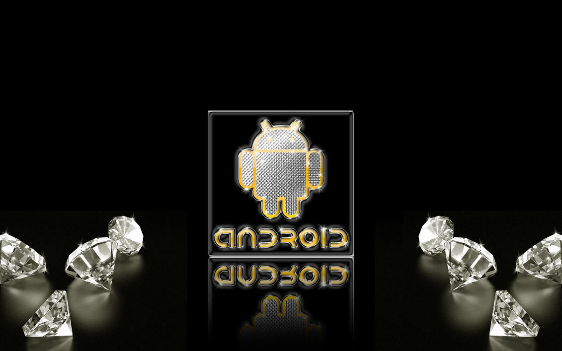 Android Gold-Silver-Diamonds W by DeviantSith