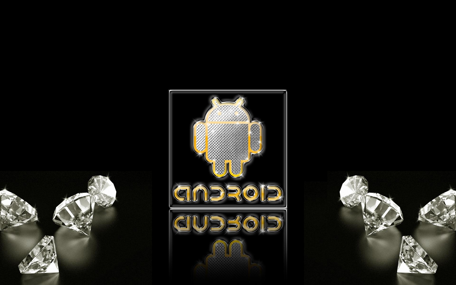android gold silver diamonds w by deviantsith
