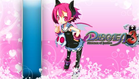 Disgaea 3 P1 PSP wall by DeviantSith