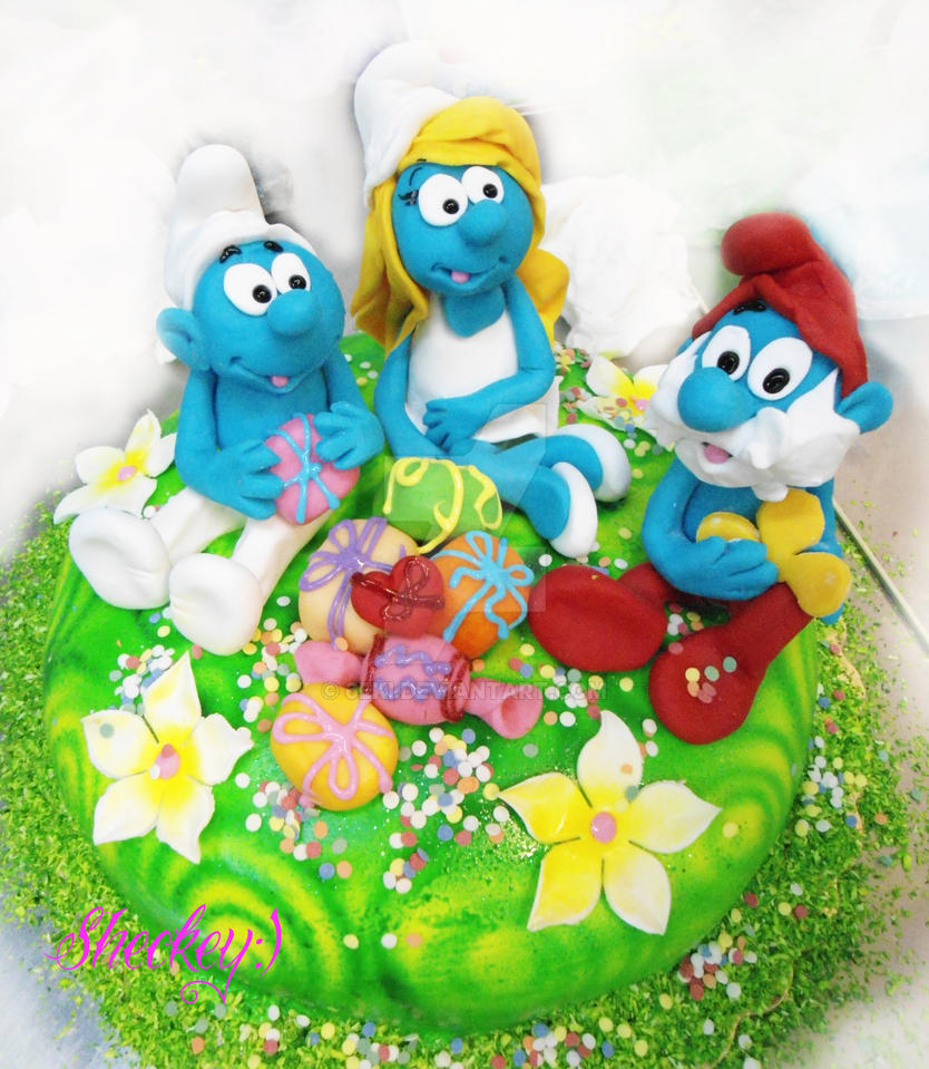 Smurfs Arts And Crafts