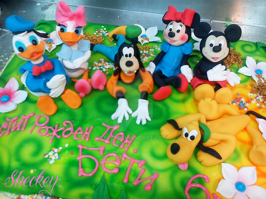 Mickey Mouse Cake Pops Pictures