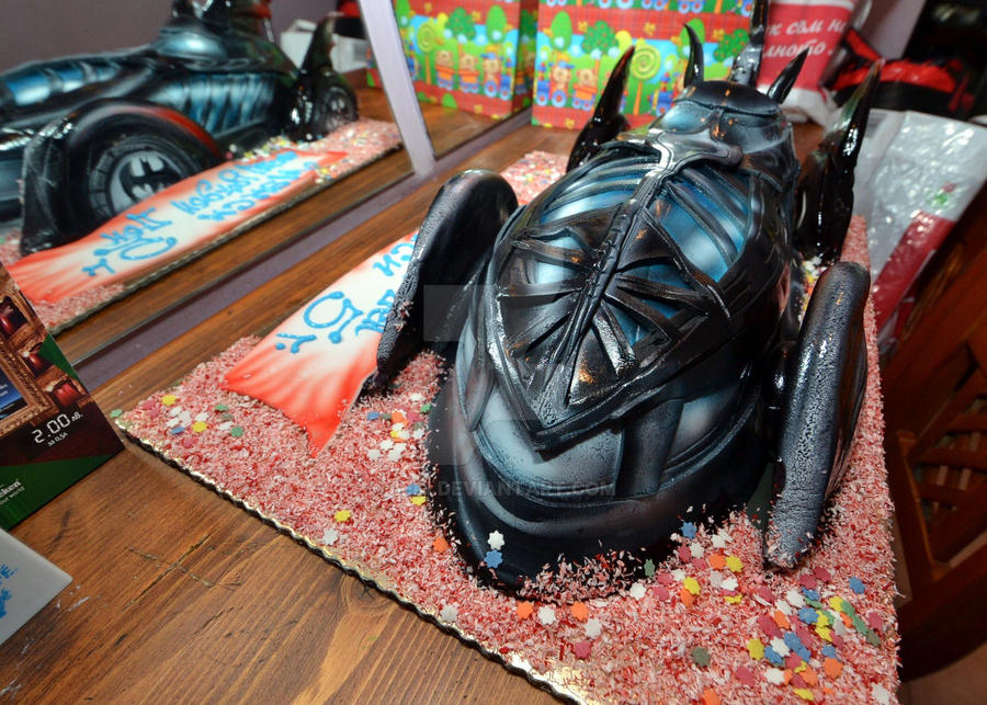 Batman Car Cake by 6eki on DeviantArt