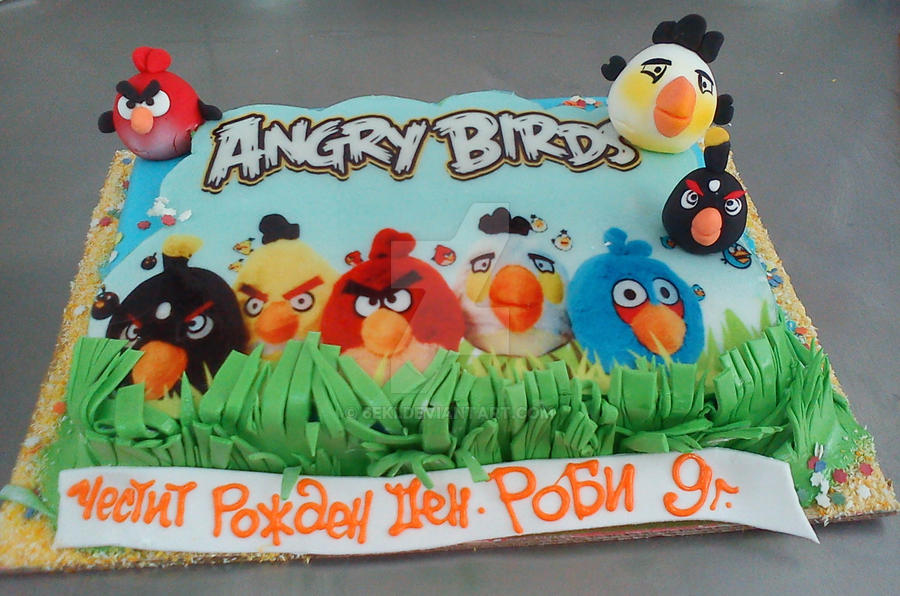 Angry Birds Cakes How To Make