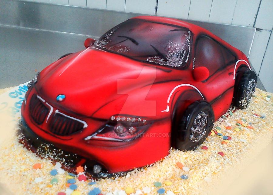 Red Car Cake By 6eki On Deviantart
