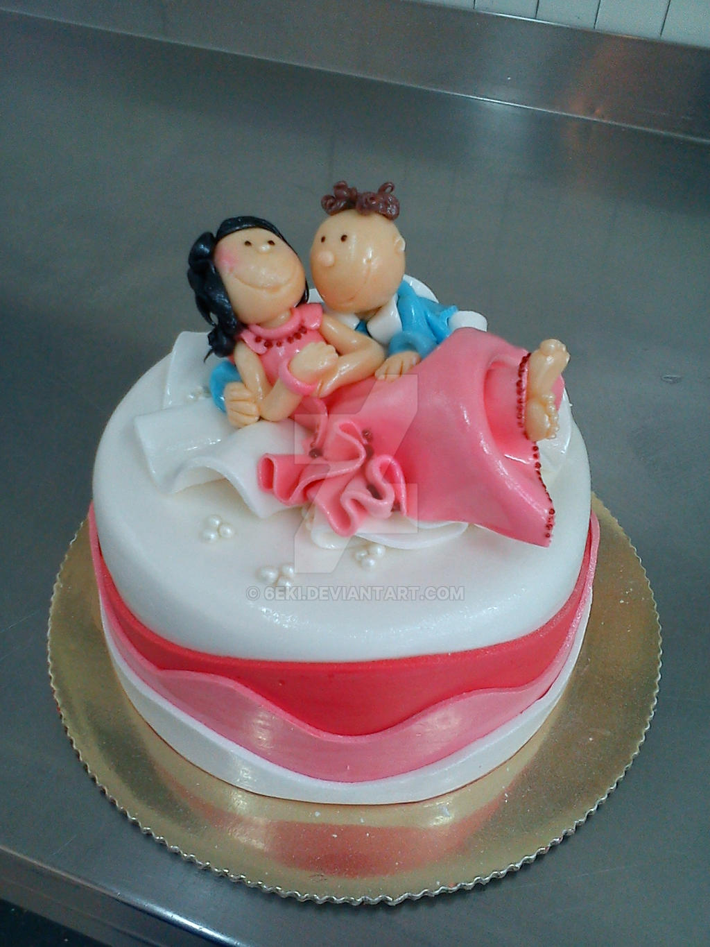 So in Love Cake by 6eki on DeviantArt