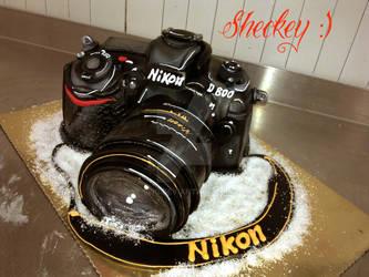 Nikon Cake by 6eki