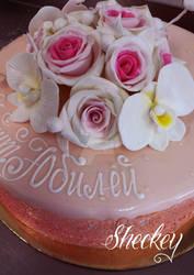 Pink Cake by 6eki
