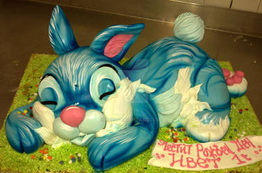 Bunny Cake by 6eki