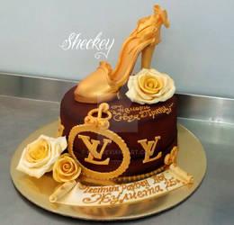 Lv Cake by 6eki