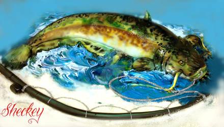 Catfish cake by 6eki