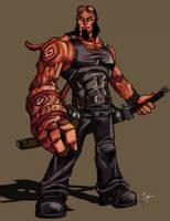 Hellboy by WesTalbott