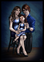 The Cullens by WesTalbott