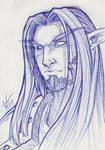 Sketch: Night Elf