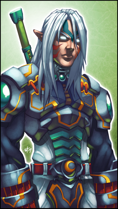 Majora's Mask Fierce Deity Link Art