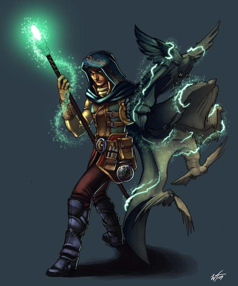 Com: Sorcerer by WesTalbott