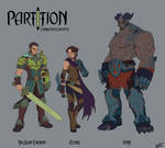 PartItion- Characters Colors