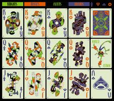 Fantasy-Fi Playing Cards by WesTalbott