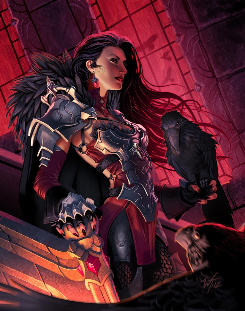 The Raven Queen by WesTalbott