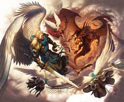 War In Heaven by WesTalbott