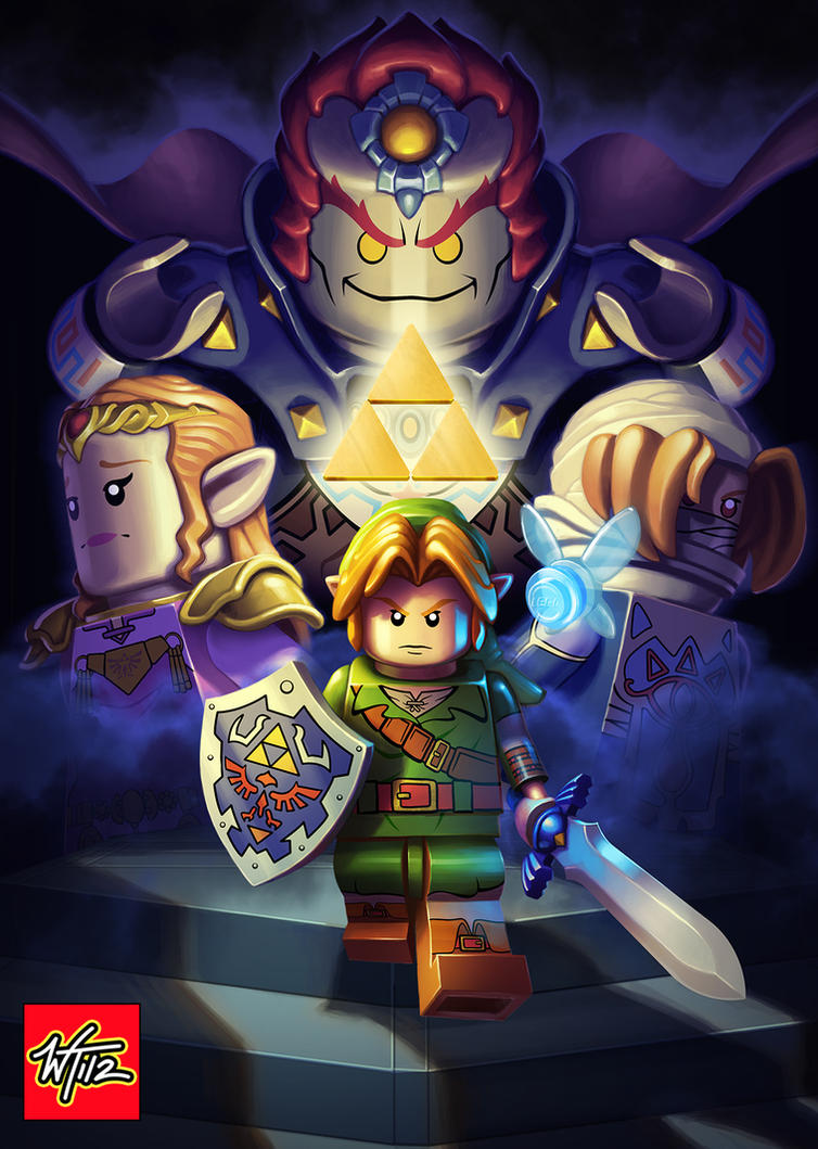 LEGO: Legend of Zelda: Ocarina of Time by WesTalbott