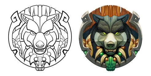 Bear Emblem by WesTalbott