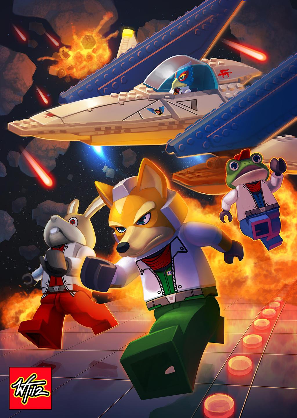 LEGO: Starfox by WesTalbott