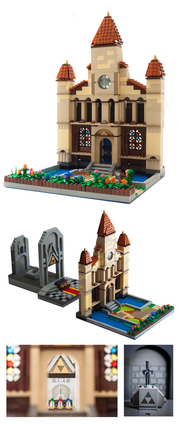 LEGO: Temple of Time by WesTalbott