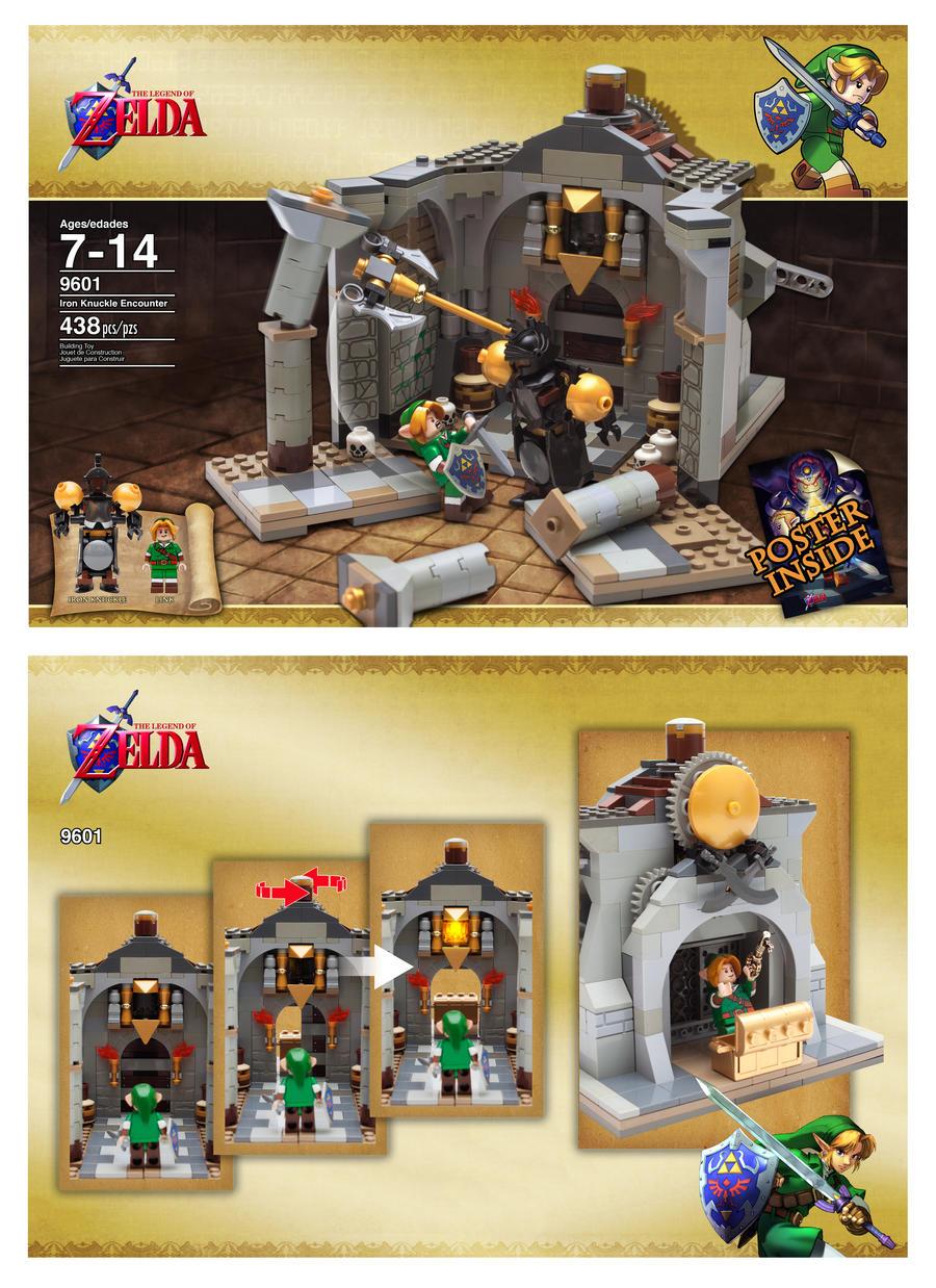 Legend Of Zelda Windwaker King Of Red Lions Lego Set Let
