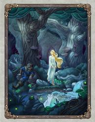 The Witch Maiden by WesTalbott