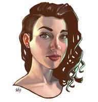 Lillie Portrait 2015 by WesTalbott