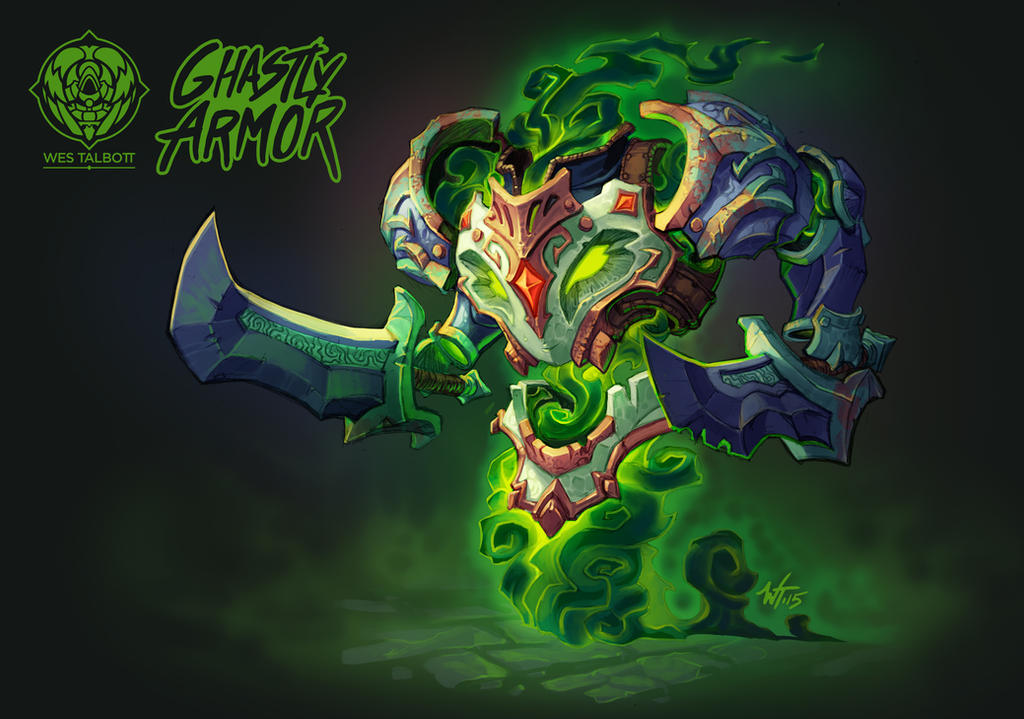 Battle Chasers Creature Contest: Ghastly Armor