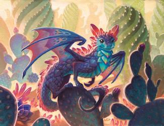 Succulent Dragon by WesTalbott