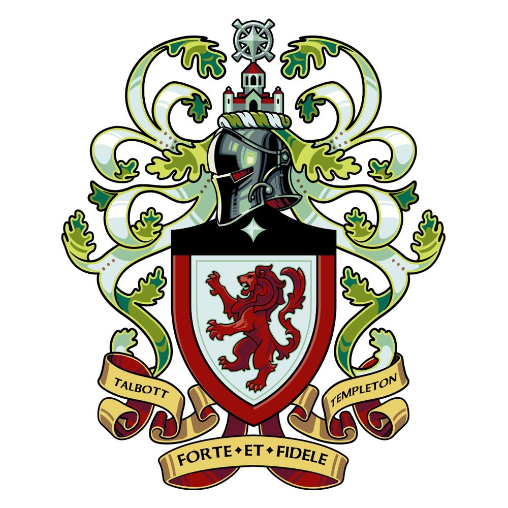 Talbott|Templeton Coat of Arms by WesTalbott