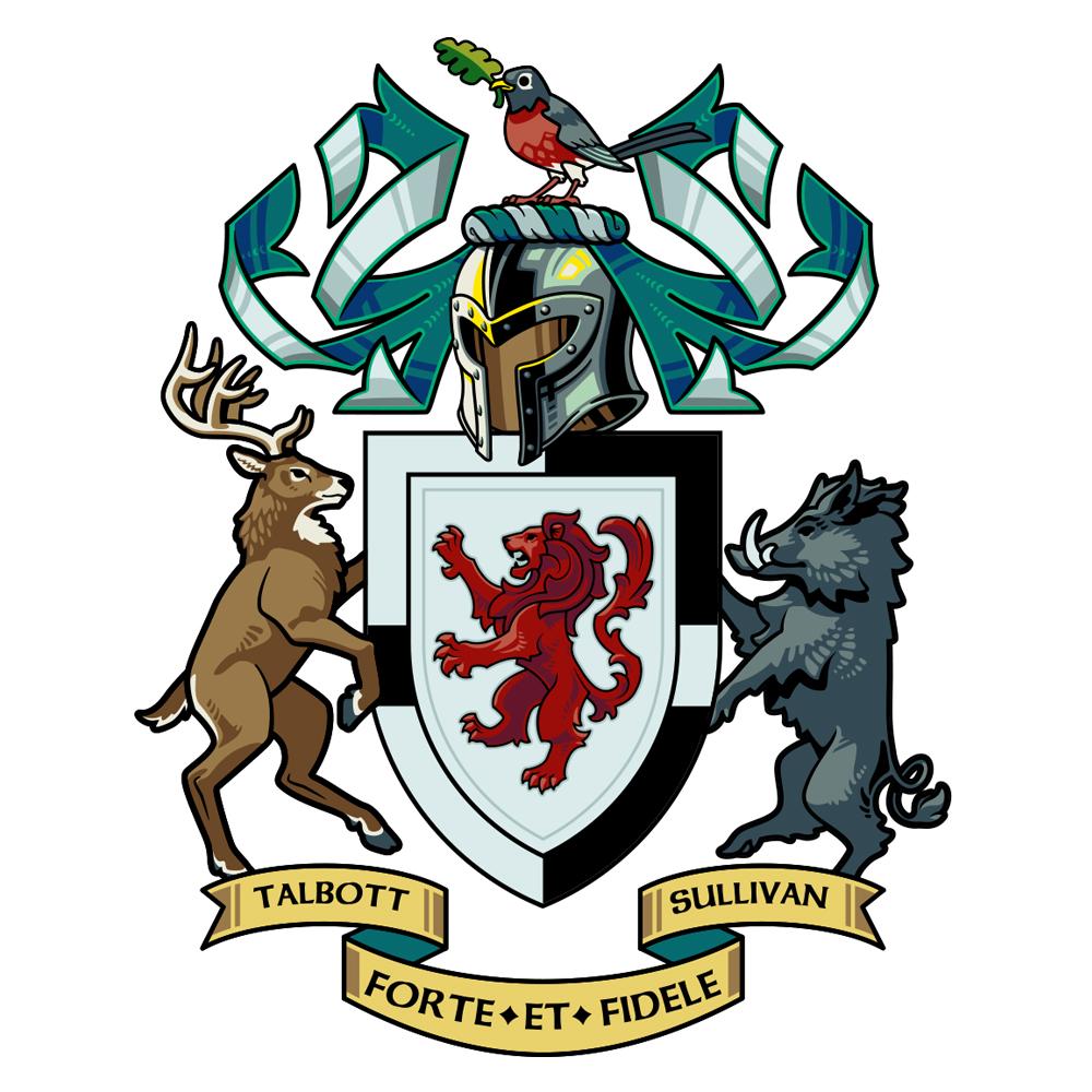 Talbott|O'Sullivan Coat of Arms