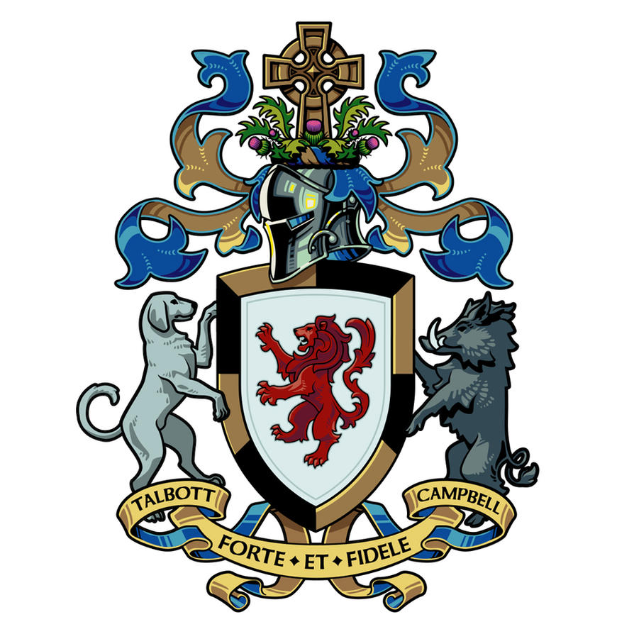 Talbott|Campbell Coat of Arms by WesTalbott